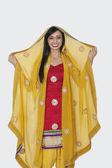 Indian woman in salwar kamee — Foto de Stock