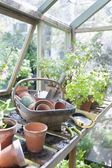 Gardening equipment — Stock Photo