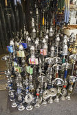 Hookahs in Cairo Bazaar — Stock Photo