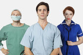 Confident medical practitioners — Photo