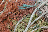 Fishing rope and nets — Stock Photo