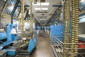 Newspaper factory interior — Stock Photo