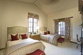 Bedroom in residence — 图库照片