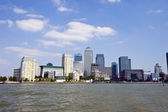 Skyline of Canary Wharf — Stock Photo