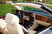 Luxury car's interior — Stockfoto