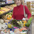 Woman grocery shopping — Stock Photo #34012055