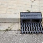Storm water drain — Zdjęcie stockowe