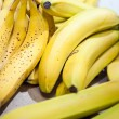 Bananas in market — Stock Photo