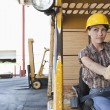 Female industrial worker — Stock Photo #34013505