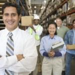 Distribution warehouse — Stock Photo #34013731