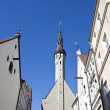 Buildings in Tallinn — Stock Photo