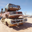 Pile of scrap cars — Stock Photo #34016167