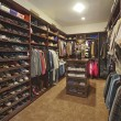 Closet with organized clothing — Foto de stock #34016719