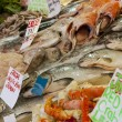 Stock Photo: Fish on display at fish market