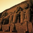 Постер, плакат: Colossi of Ramses II Great Temple of Ramses II Abu Simbel
