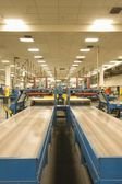 Noviny továrna interiér — Stock fotografie