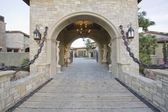 Stone gateway — Stock Photo