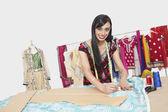Indian female fashion designer — Stock Photo