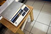 Máquina de pesaje — Stockfoto