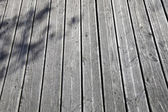 Wooden boardwalk — Stock Photo