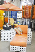 Garden furniture store — Foto Stock