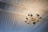 Illuminated Chandelier — Stock Photo