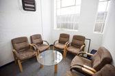 Interior of waiting room — Stock Photo