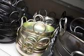 Stacked kitchen utensils — Stock Photo