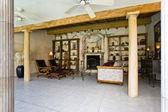 Showcase interior — Stock Photo