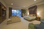 Bedroom in luxurious residence — Stock Photo