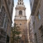 Brides church- Fleet street — Stock Photo #2739702