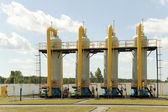 Gas transport — Stock Photo