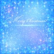 Blue christmas backgrounds. — Stock Vector