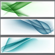 Set of abstract banners. — Stock Vector #17680835