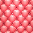Pink vector upholstery leather pattern background. — Stock Vector