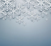 šedá vánoční pozadí. — Stock vektor