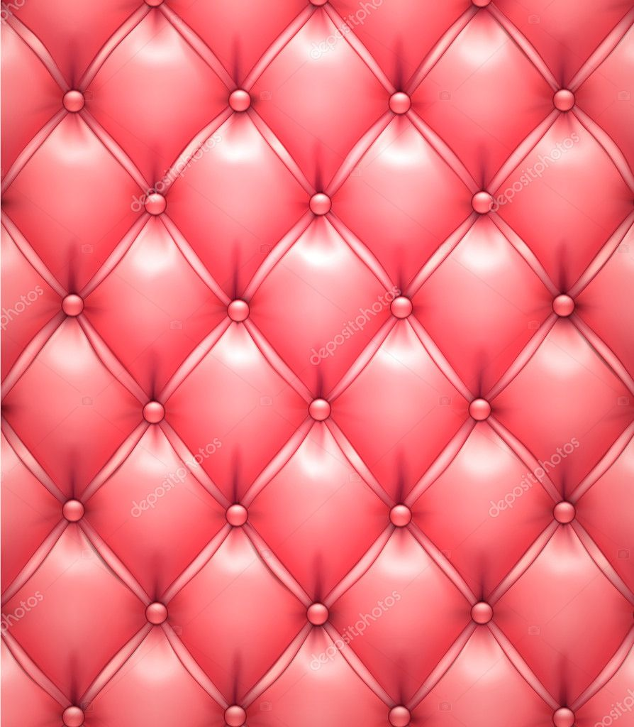 Pink Vector Upholstery Leather Pattern Background Stock
