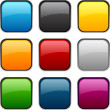 Square color icons. — Stock Vector #25607907