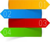 Diseño de infografías. — Vector de stock