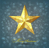 Christmas star background. — Stock Vector
