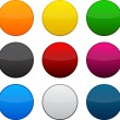 Round colorful icons. — Stock Vector #34591299
