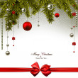 Christmas background — Stock Vector #34591555