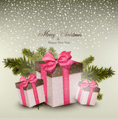 Navidad de fondo. — Vector de stock