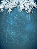 Рождество синий абстрактный фон. — Cтоковый вектор