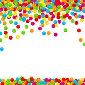 Fondo de celebración de confeti. — Vector de stock