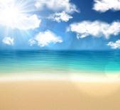Côte de l'été. — Vecteur