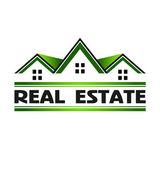 Real Estate Green — Stock Vector