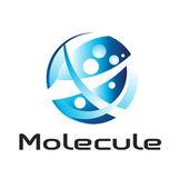 Logotipo da molécula — Vetorial Stock