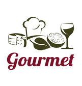 Gourmet Cuisine — Stock Vector