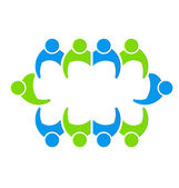 Directory Team — Stock Vector